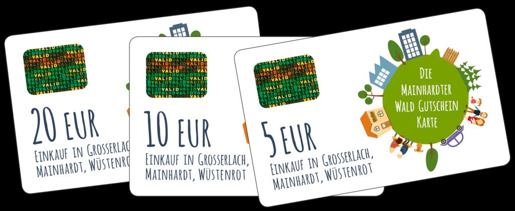 Mainhardter Wald Gutschein Karten